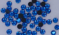 DMC  Rhinestones 2880 pcs    6ss  Capri Blue  Hotfix iron-on
