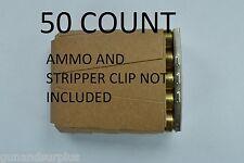 50x 5RD .308, 7.62 x51, 30-06, 8mm, 6.5x55mm Cardboard Stripper Clip Inserts