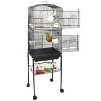 """59"""" Large Bird Parrot Pet Cage Chinchilla Cockatiel Conure House with Stand"""