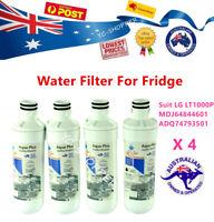 4 X LG LT1000P Premium Compatible Ice & Water Fridge Filter - LT1000P
