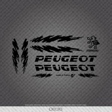0836 Peugeot Splash Bicycle Stickers - Decals - Transfers