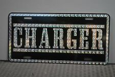 RETRO 1970'S PRISM CHARGER METAL LICENSE PLATE R/T 383 440 DODGE SPEED PARTS