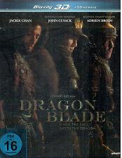 DRAGON BLADE - Jackie Chan / Cusack / Brody - 3D Blu-ray - Steelbook - NEW