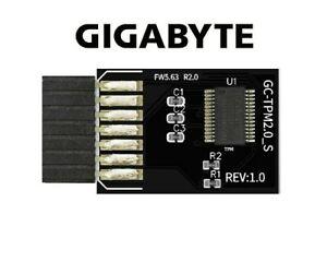 Gigabyte TPM 2.0 GC_TPM2.0-S Compatible Trusted Platform Module (12-1 Pin)