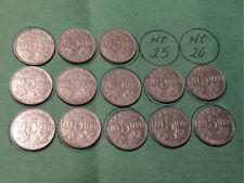1922-1936 Canada 5 cents - no 1925 or 1926