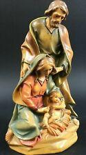 Peter Vogler Heilige Krippe Holz Figur geschnitzt 15cm Meister Arbeit 13EH7