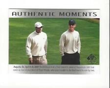 2014 SP Authentic #70 Tiger Woods AM David Duval