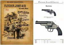 Fletcher, Jenks & Co. 1891 Guns & Sports, Detroit, MI