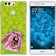Case für Huawei P9 Silikon-Hülle Ostern M5 + 2 Schutzfolien