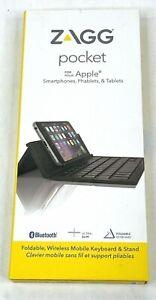 ZAGG Foldable Pocket Keyboard Apple Smartphones, Phablets & Tablets