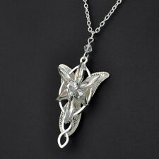 Lord of the Rings Arwen Evenstar Necklace Pendant LOTR Hobbit jewelry