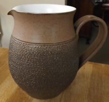 Vintage Denby Cotswold Brown 6 Inch Tall Pitcher. Super Condition.