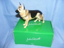 John Beswick Dog German Shepherd JBD98  Figurine Present Gift New Boxed