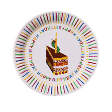 Hungry Caterpillar Birthday Party Plates 8 Pack