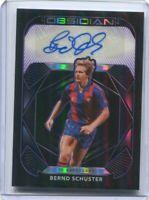 2020-21 Panini Obsidian Soccer AUTO  Bernd Schuster FC Barcelona /75