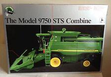 John Deere 9750 STS Combine Tractor w/ 2 Heads #1 Precision Series II ERTL 1/32