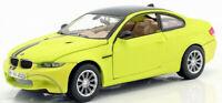 BMW M3 COUPE 1:24 Scale Diecast Toy Car Model Die Cast Miniature Satin Series