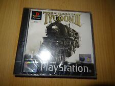 RAILROAD TYCOON Sony PS1 PlayStation 1 new sealed pal version