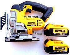 DeWalt DCS331 20V Cordless Variable Speed Jig Saw, (2) DCB204 Batteries 20 Volt