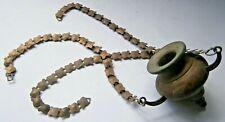 ANTIQUE Lamp 16-19th Ritual item for MUSEUM Ukraine EASTERN Europe BRONZE Rare