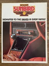 1977 Holden Sunbird original Australian sales brochure