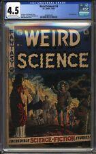 Weird Science 14 CGC 4.5 1952 EC Comics NO RESERVE