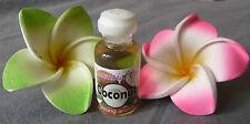 Huile essentielle noix de coco 100 % naturelle et pure massage aromathérapie