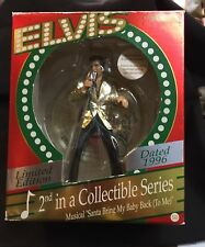 1996 #2 Elvis Musical Ornament Limited Edition Series by Carlton Cards