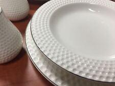 56-Teilig Tafelservice Ess Service Porzellan Set Geschirr Rund 12 Personen weiß