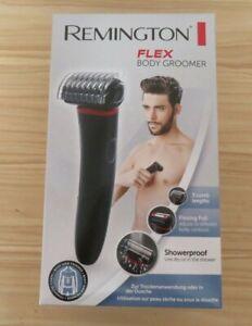 Remington BHT100 Flex Body Showerproof Groomer, Black/Red