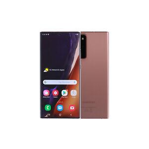 Samsung Galaxy Note 20 Ultra 5G N986F/DS / 256GB Schwarz Weiß Bronze / Gebraucht