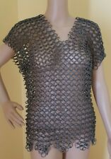 12 Pound Chain Mail Vest Renaissance Medieval Costume Cosplay Armour Chainmail