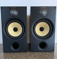 Bowers & Wilkins B&W 685 S2 Pair of HiFi Loudspeakers Black Ash Mint Cond