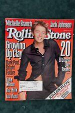 Rolling Stone Magazine - Clay Aiken #926 July 10, 2003 (B)