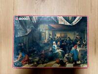 Vintage Jigsaw Puzzle 2000 pcs Jan Steen 1626-1679 98cm/ 68cm toys fun