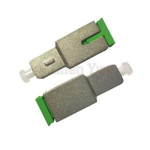 2pcs SC UPC Male to SC APC Female Fiber Optic Adapter Hybrid adapter