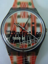 GM138 New Swatch - 1996 Web Site Colorful WWW Connection Swiss Made Authentic