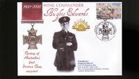 AUSTRALIAN ANZAC VICTORIA CROSS 100th ANNIV COV, W/C HUGHIE EDWARDS