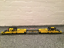 LEGO CUSTOM TRAIN 9V - THE WORLD LARGEST RAIL SCHNABEL CAR  46 INCH LONG !!! N1