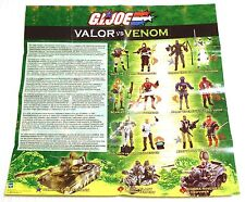 2003 GI G.I. JOE VALOR vs. VENOM EURO CATALOG!!! - Logo cover - Hasbro