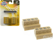 """STACKED CRATES """"FORD"""" ACCESSORY 2 PC SET 1/87 (HO) BY CLASSIC METAL WORKS 20224"""