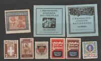 Poster stamps and? tax revenue cinderella fiscal stamp 4-15
