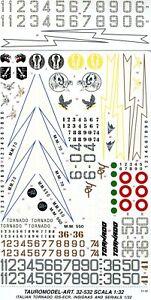 TAURO MODEL TM32/532 INSEGNE E CODICI LO-VIZ PER TORNADO A.M.I. SCALA 1:32
