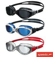 SPEEDO FUTURA BIOFUSE FLEXISEAL SWIMMING GOGGLES MENS AND WOMENS NEW ANTIFOG