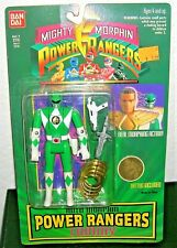 1994 Mighty Morphin GREEN POWER RANGERS ACTION FIGURE Tommy Bandai Sealed #2310