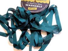 Carafe Green Seam Binding x 100 Yards, Rayon, Hug Snug, Dark Green Ribbon