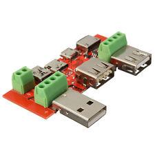 Juwei mini USB micro USB Type-C Interface Adapter Converter Battery tester added