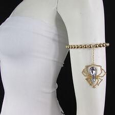 Bracelet Arm Chains Chain Spider Beads New Women Black Silver Gold Metal Fashion