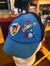 Paw Patrol Cute Blue Boy Cap Hat Snap Back Blue Official Ages 6-18months M&S