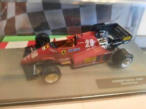 Altaya Die Cast F1 Ferrari 126 C3 Turbo #28 René Arnoux 1983 1/43